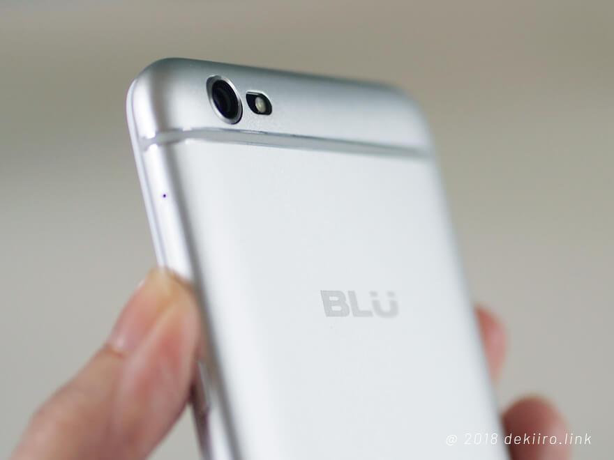 BLU GRAND X LTE カメラ