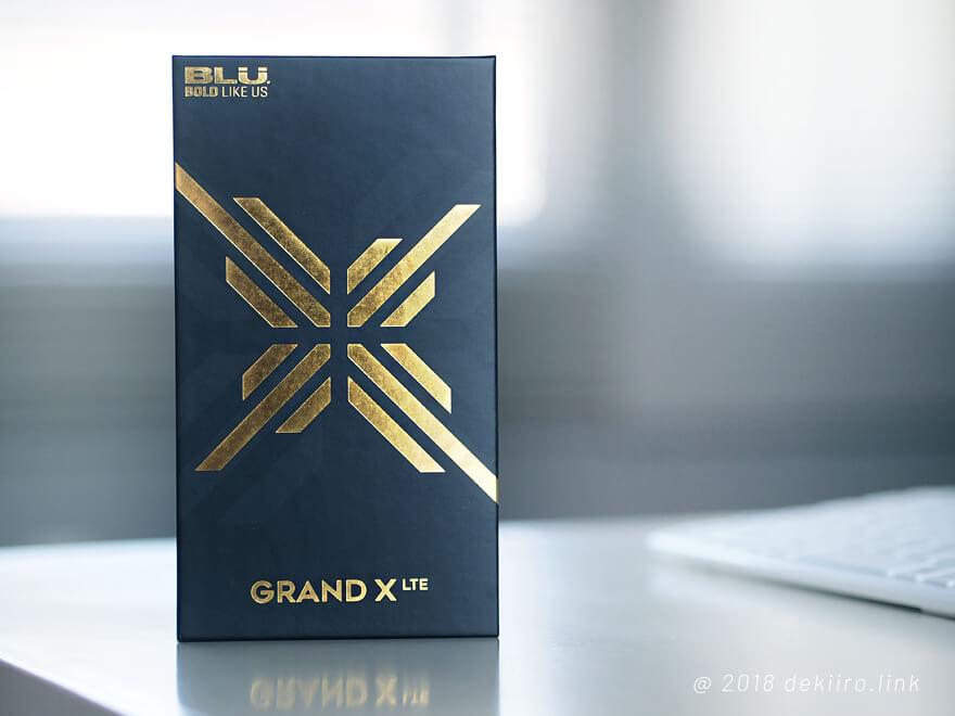 BLU BLU GRAND X LTE のパッケージBOX