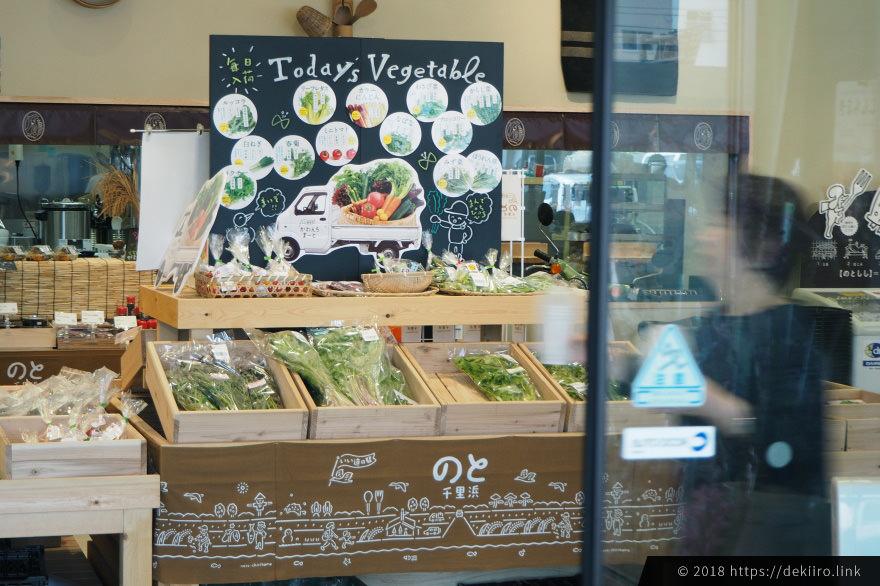 能登・羽咋の特産野菜が揃う直売所「かわんちまーと」