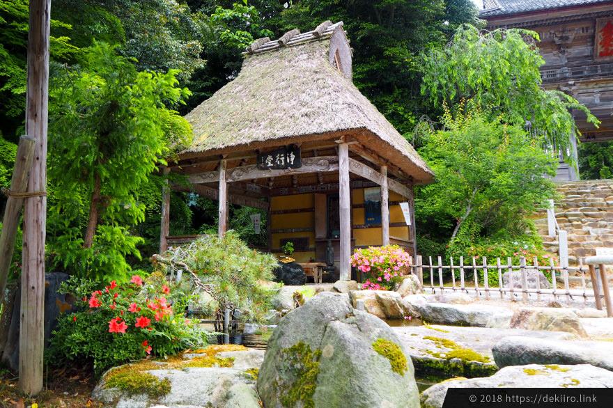 能登・妙成寺内にある浄行堂