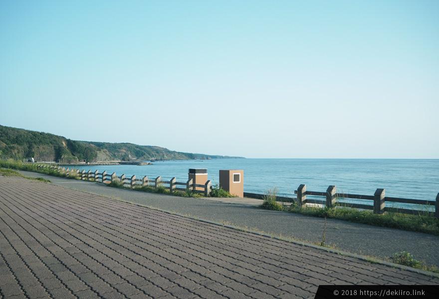 増穂ヶ浦の風景