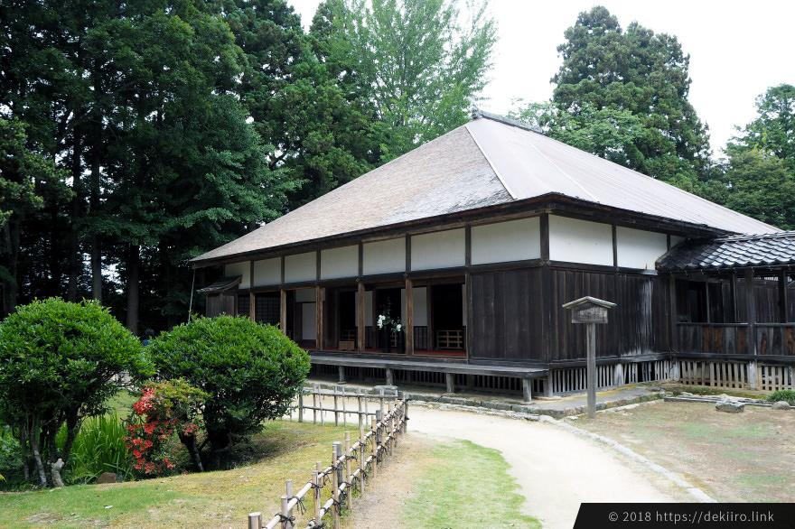 国指定重要文化財 妙成寺の書院