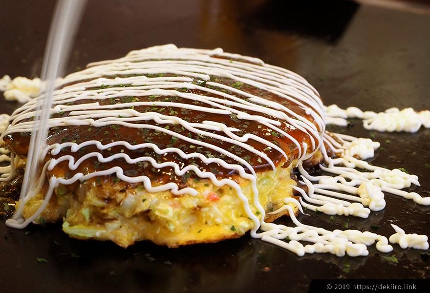 平野屋のお好み焼き定番豚玉