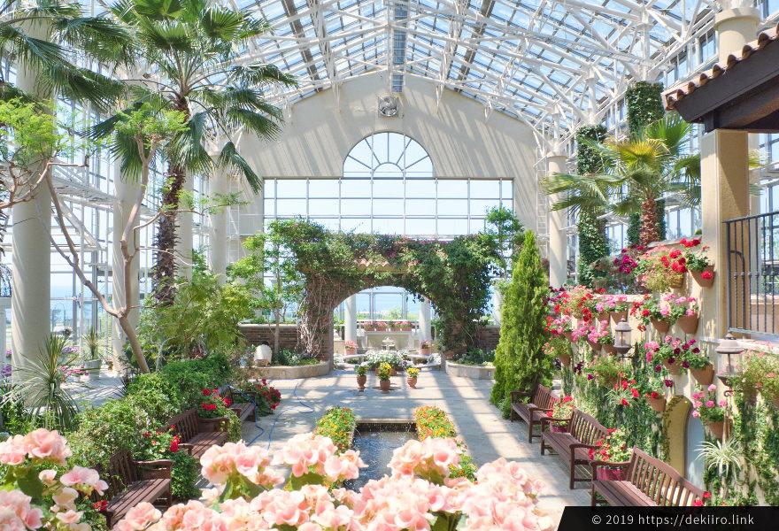 志賀町フローリィの温室 (ガーデンハウス) 全景