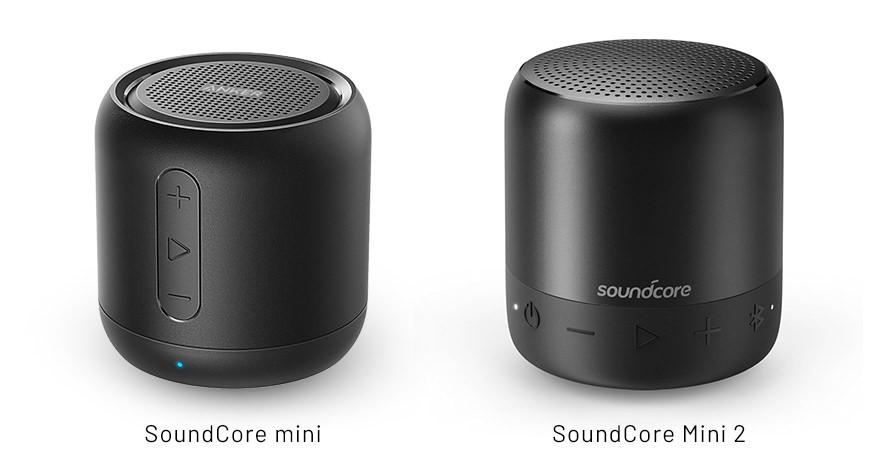 サウンドコア mini と mini 2