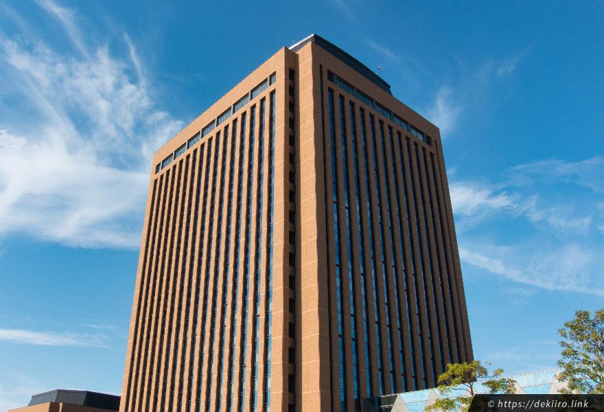 石川県庁の外観