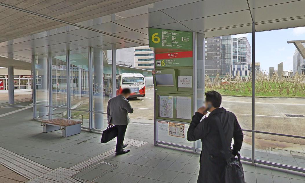 金沢駅バス停乗り場