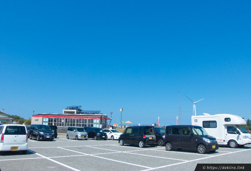 道の駅内灘の駐車場