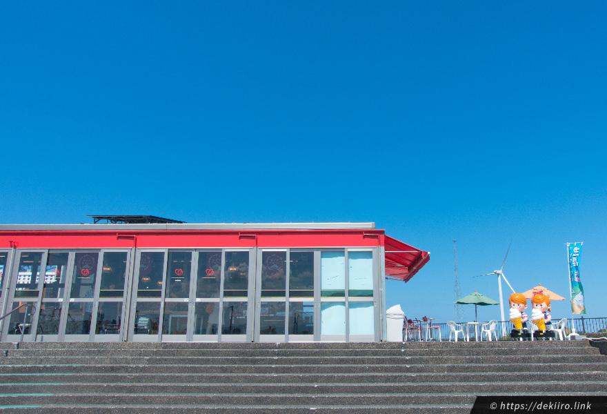 道の駅「内灘サンセットパーク」の外観