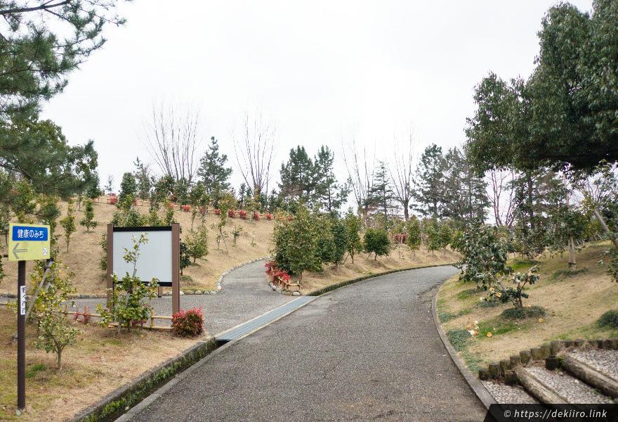 椿山の風景