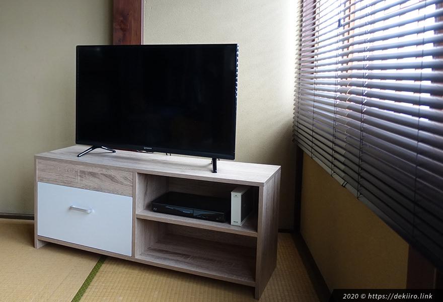 maxzen J32CH02 テレビ外観